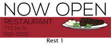 Picture of Restaurant Banner 1