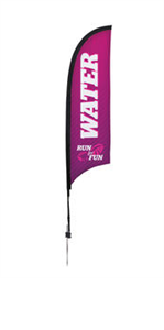 Picture of 7' Razor Flags Single Side