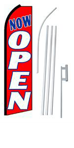 Picture of Now Open Red