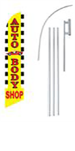Picture of Auto Body Shop Flag